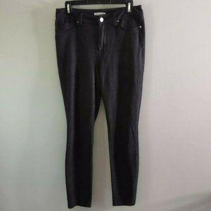 Good American Good Legs Snakeskin Jeans Black 8 29